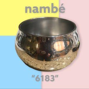 """Nambé• """"6183""""• mini bowl• EUC!"""